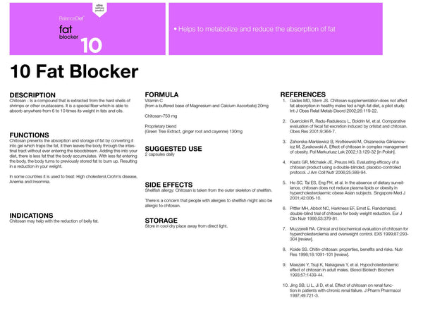 10 Fat Blocker - BalanceDiet  - 2