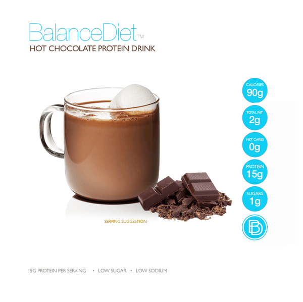 Hot Chocolate Protein Drink - BalanceDiet  - 2