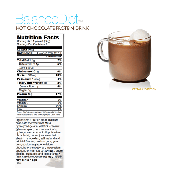 Hot Chocolate Protein Drink - BalanceDiet  - 3