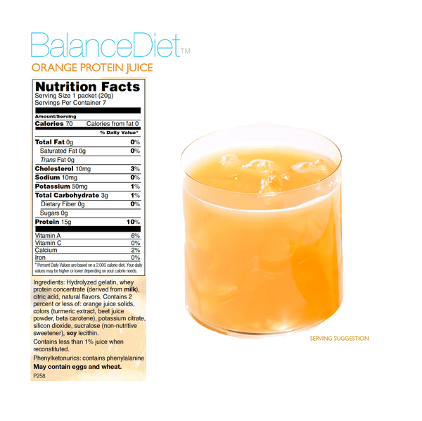 Orange Protein Juice - BalanceDiet  - 3