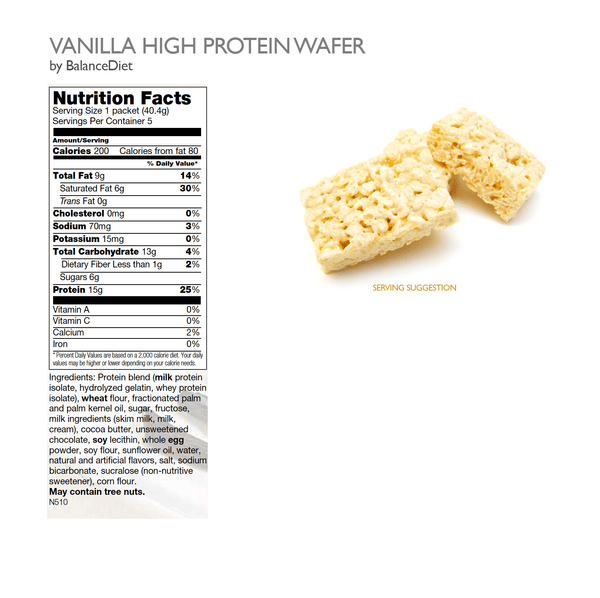 Vanilla Wafer Cookies - BalanceDiet  - 3