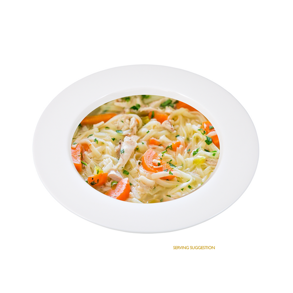 Chicken Noodle Protein Soup - BalanceDiet  - 1