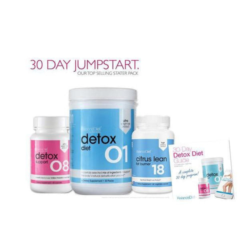 30 Day Jumpstart      |    Daily Cleanse and Nutrition Multi-Pack + Fat Burner +Probiotics - BalanceDiet  - 1