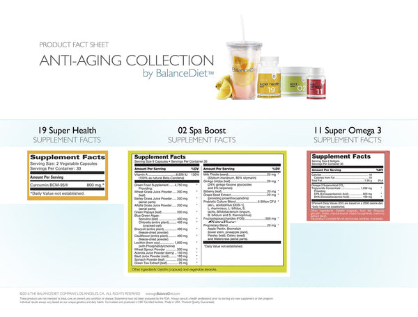 BalanceDiet Anti-Aging Collection - BalanceDiet  - 4