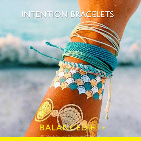 BalanceDiet Intention Bracelet