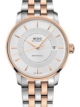 Mido Baroncelli Signature - Stainless Steel with Rose Gold PVD - Stainless Steel with Rose Gold PVD Bracelet