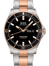 Mido Ocean Star - Stainless Steel with Rose Gold PVD -  Stainless Steel Rose Gold PVD Bracelet