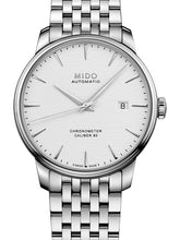 Mido Baroncelli Chronometer Silicon Gent - Stainless Steel - Stainless Steel Bracelet