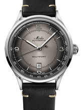 Mido Multifort Patrimony - Stainless Steel - Black Patina Leather Strap