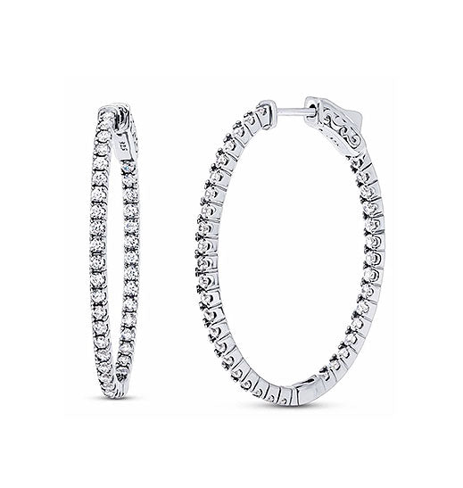 Large Eternity Hoops