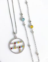 Load image into Gallery viewer, TARA Bezel Necklace (Make Selection)