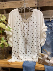 White Shift Casual Shirts & Tops