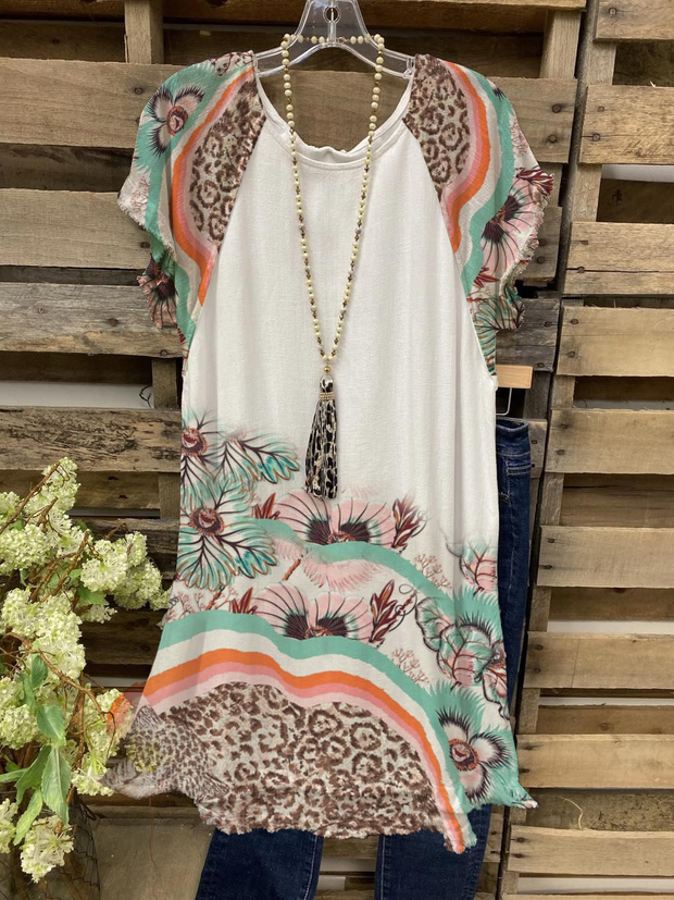 Shift Boho Dresses