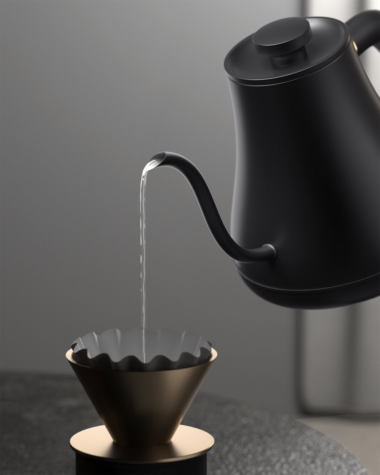 Barista Edition Pour Over Kettle G1 Black