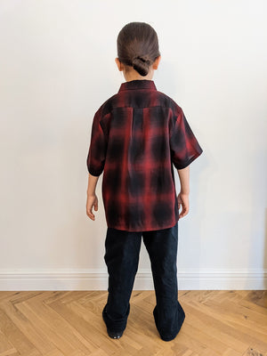 Kids Ombre check Shirt