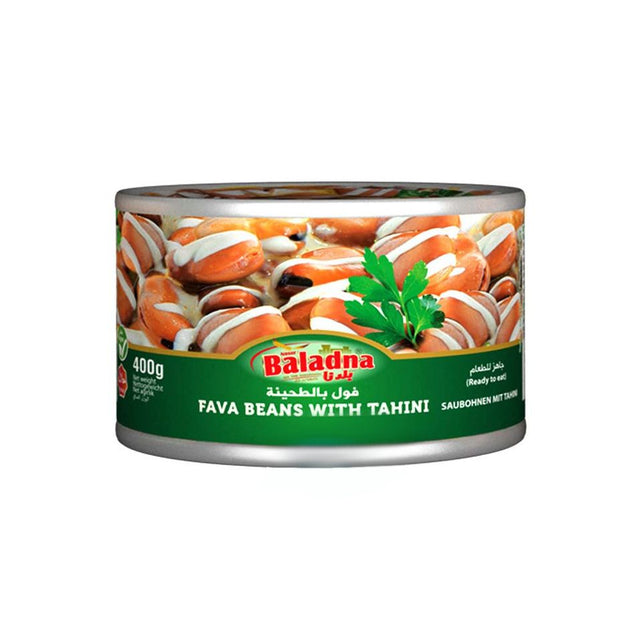 Baladna Favabeans with Tahini 400g