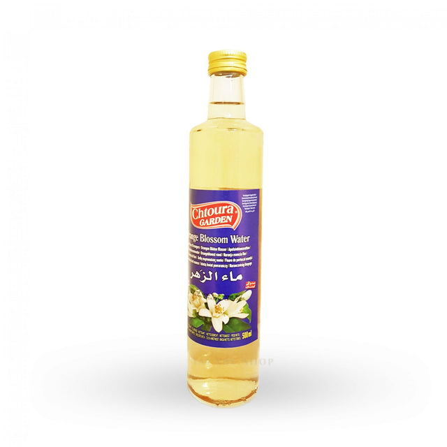 Orange Blossom Water Chtoura Garden 500ml