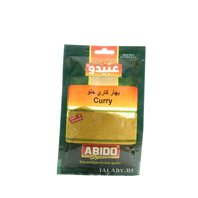 Curry Spices Abido 50g
