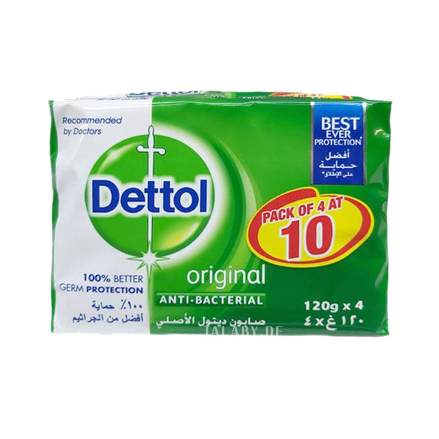 Dettol 3+1 Original Soap 300g
