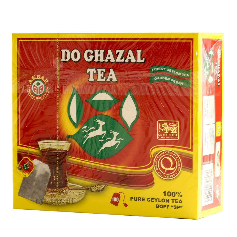 Pure Cylon Tea DoGhazal 100 Tea Bags