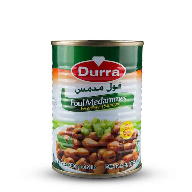 Cooked Fava Beans Durra 400g
