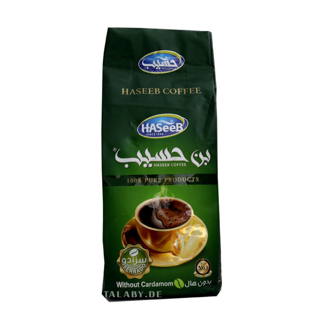 Haseeb Arabic Coffee without Cardamom 500g