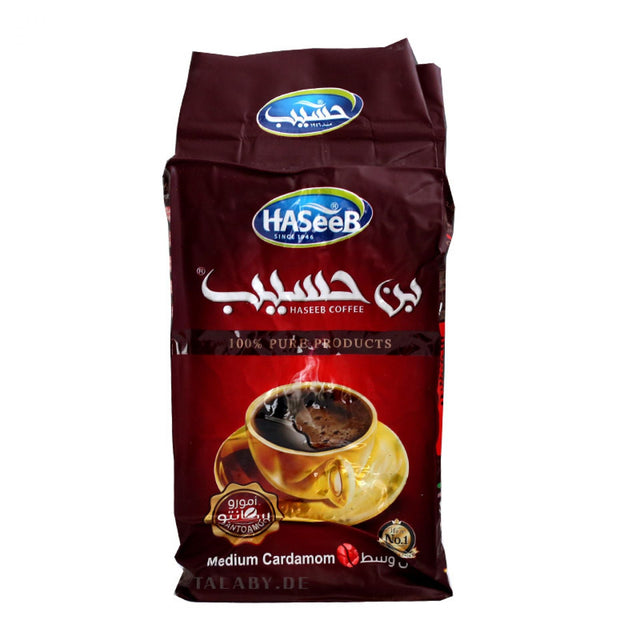 Haseeb Arabic Coffee Medium Cardamom 500g