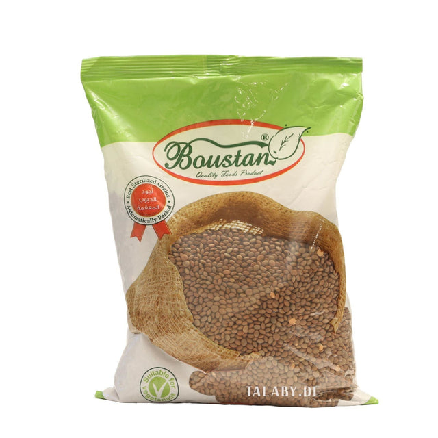 Brown Lentils Boustan 900g