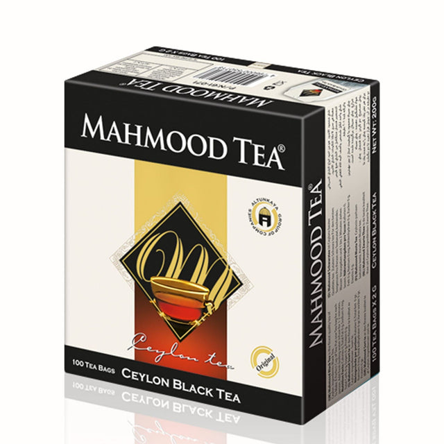 Cylon Black Tea  Mahmoud Tea 100 Tea Bags