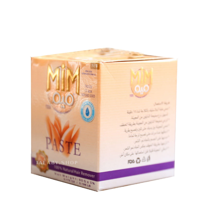 MiM hair removal  paste 100% natural 90g