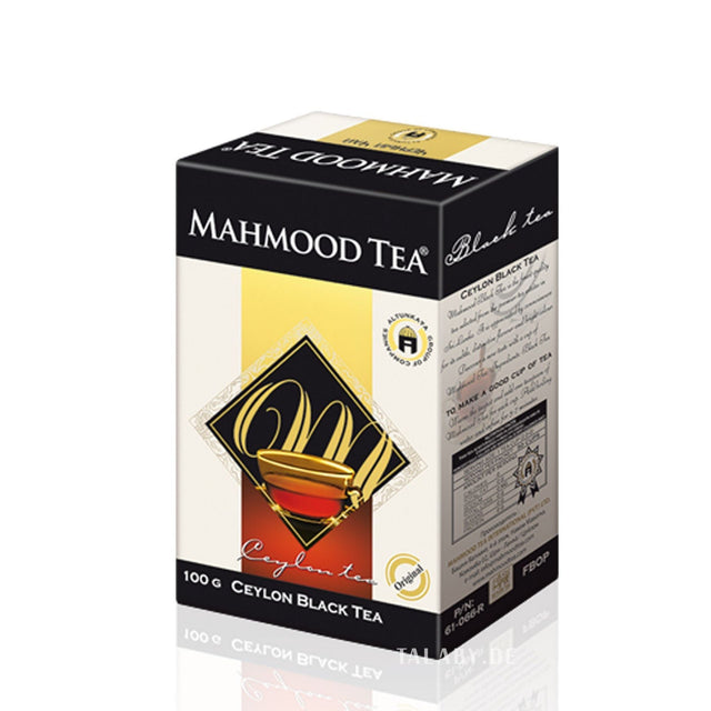 Cylon Black Tea  Mahmoud Tea 450g