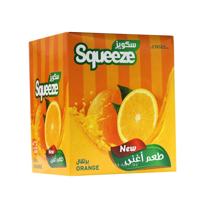 Squeeze Orange 1Lx12 Sachets