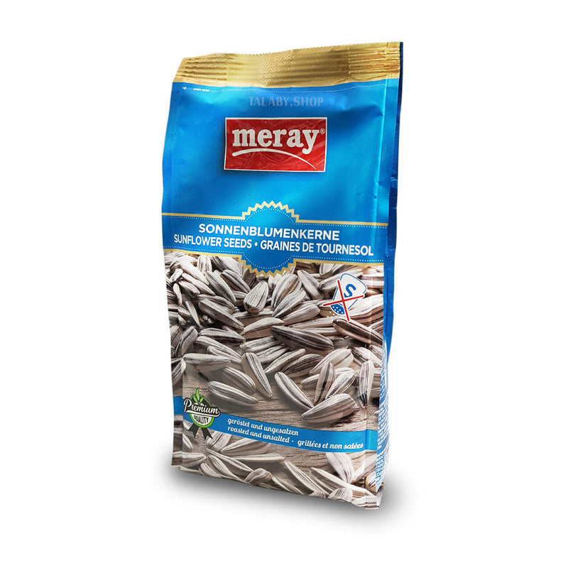 Meray sunflower seeds roasted and unsalted (300g)