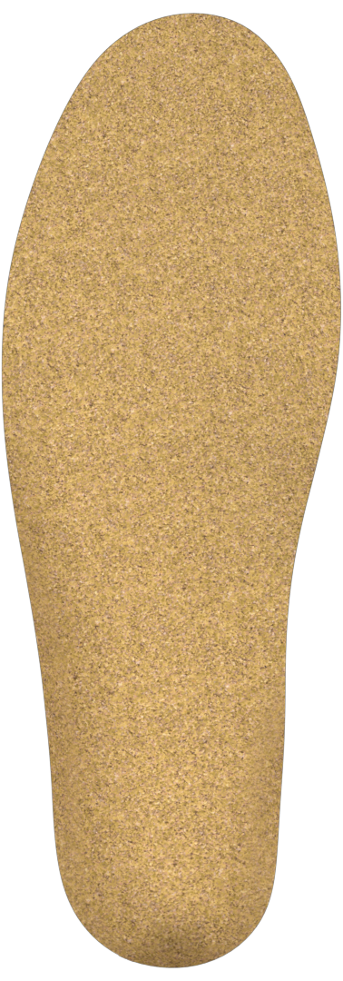 Cork bottom layer