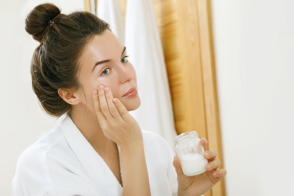 what does organic coconut oil do for your face