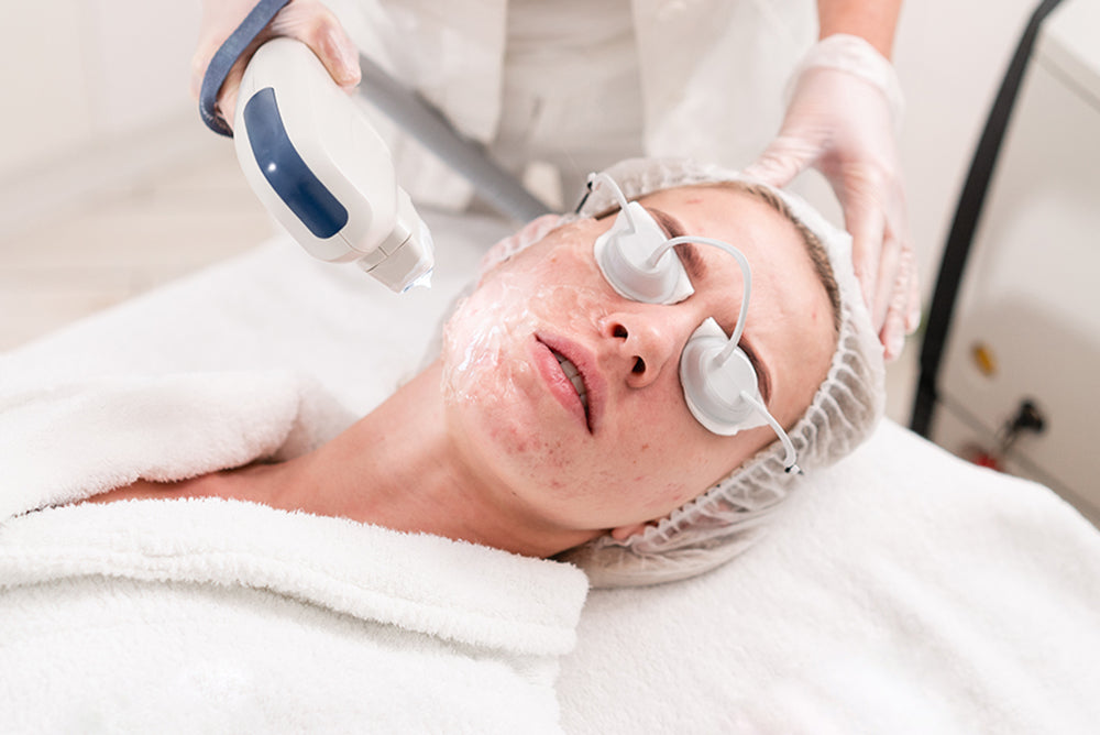 types of facial laser treatment