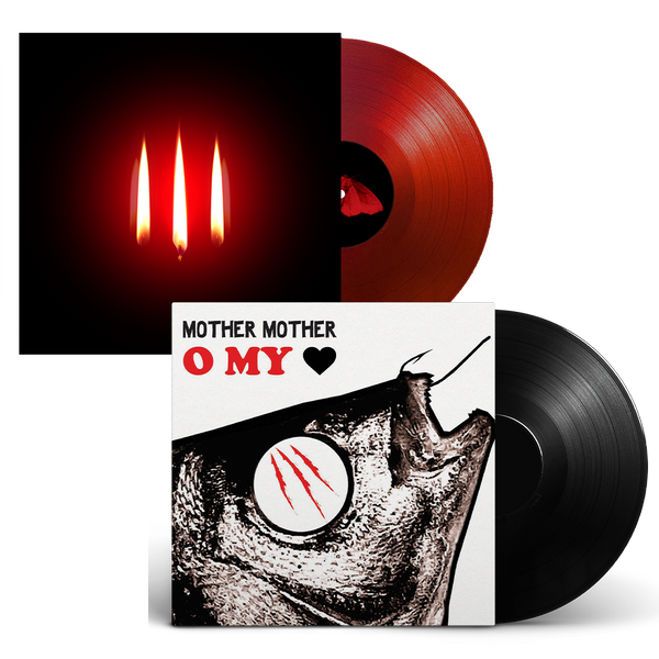 Inside & O My Heart Vinyl Bundle (Pre-Order)