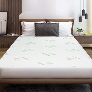 Bamboo Mattress Protector Queen - Giselle Bedding
