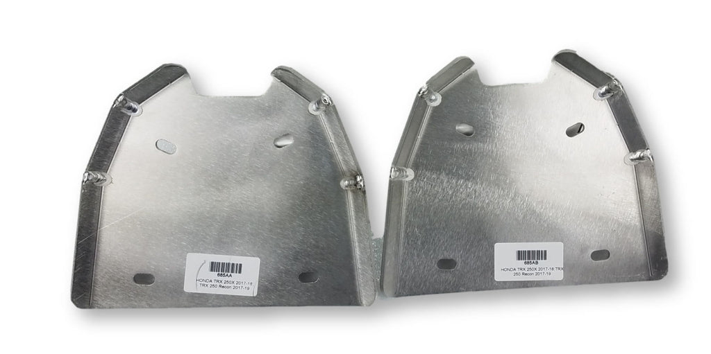 2-Piece A-Arm Guard Set, Honda TRX250 Fourtrax Recon