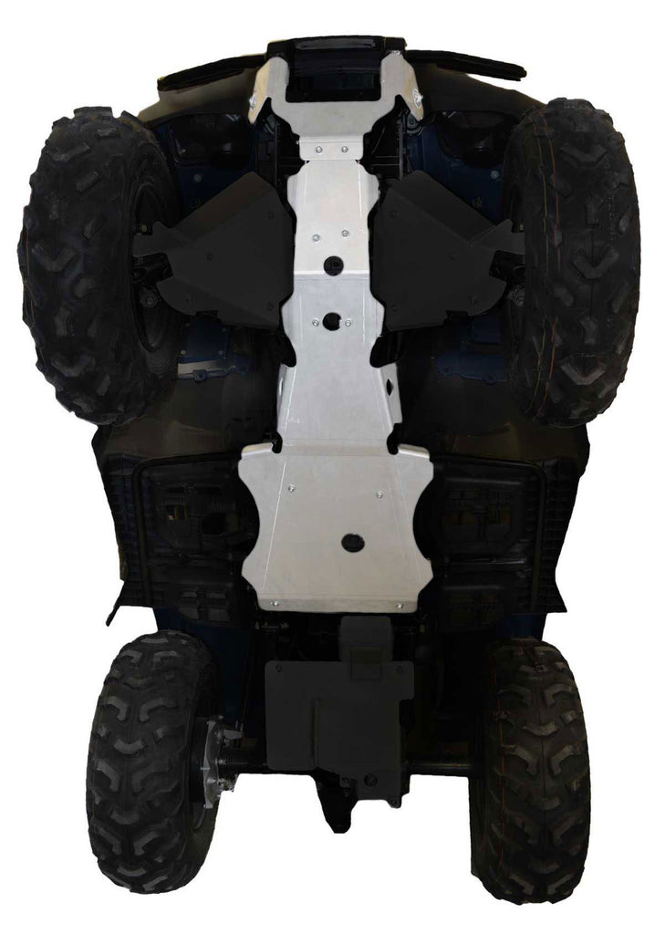 2-Piece Full Frame Skid Plate Set, Honda TRX420 Fourtrax Rancher (straight Axle)