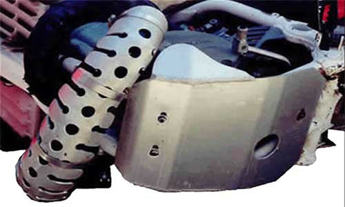Universal 2-Stroke Head Pipe Guard