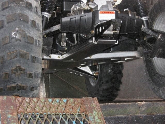 3-Piece Full Frame Aluminum Skid Plate Set, 2006-2012 Can-Am Outlander 500