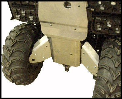 7-Piece Complete Aluminum Skid Plate Set, Yamaha Big Bear
