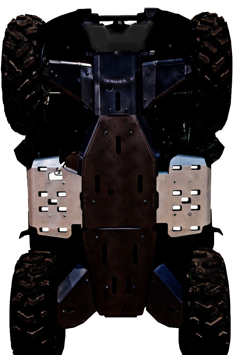 2-Piece Floor Board Skid Plate Set, Yamaha Grizzly 700 & Grizzly 550
