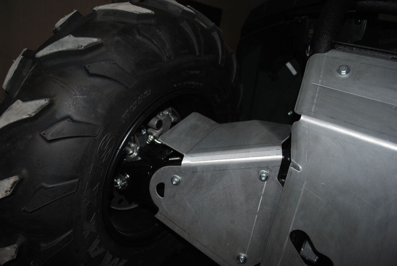 4-Piece Aluminum A-Arm & CV Boot Guard Set, Yamaha Grizzly 450 (350i)