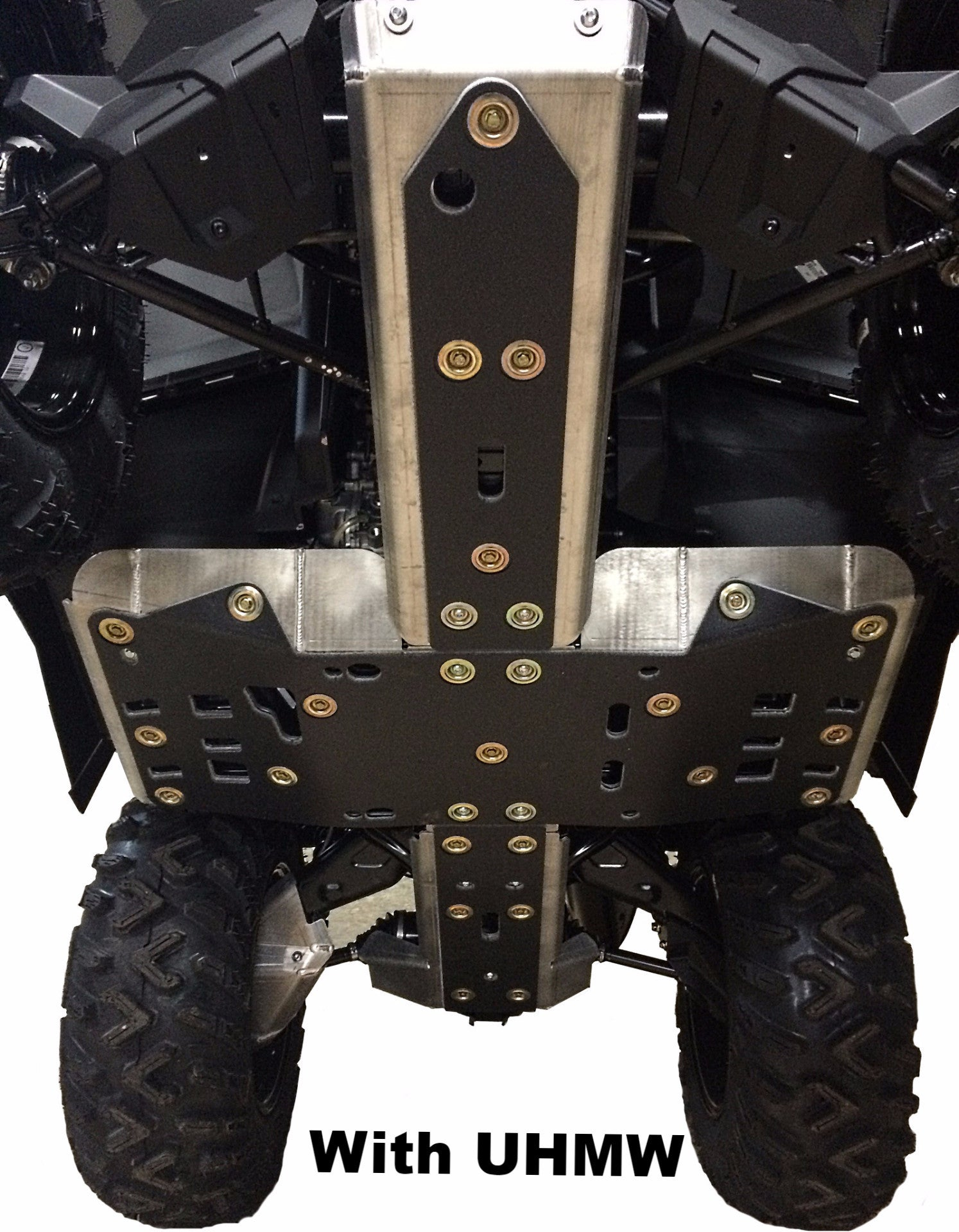 4-Piece Full Frame Skid Plate Set, 2013-2016 Can-Am Outlander 500