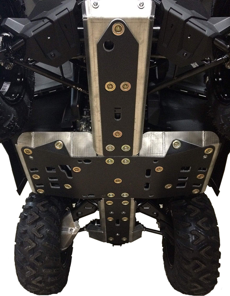 8-Piece Complete Aluminum Skid Plate Set, 2012-2019 Can-Am Outlander 850/DPS