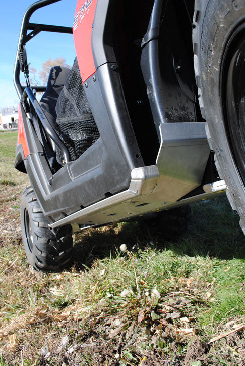 2-Piece Aluminum Rock Slider and Floorboard Guards, Polaris RZR 800