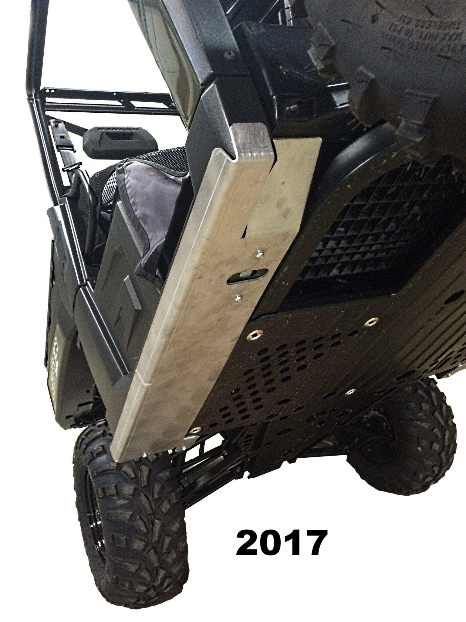 2-Piece Aluminum Rock Slider Set, Polaris Ranger XP 1000