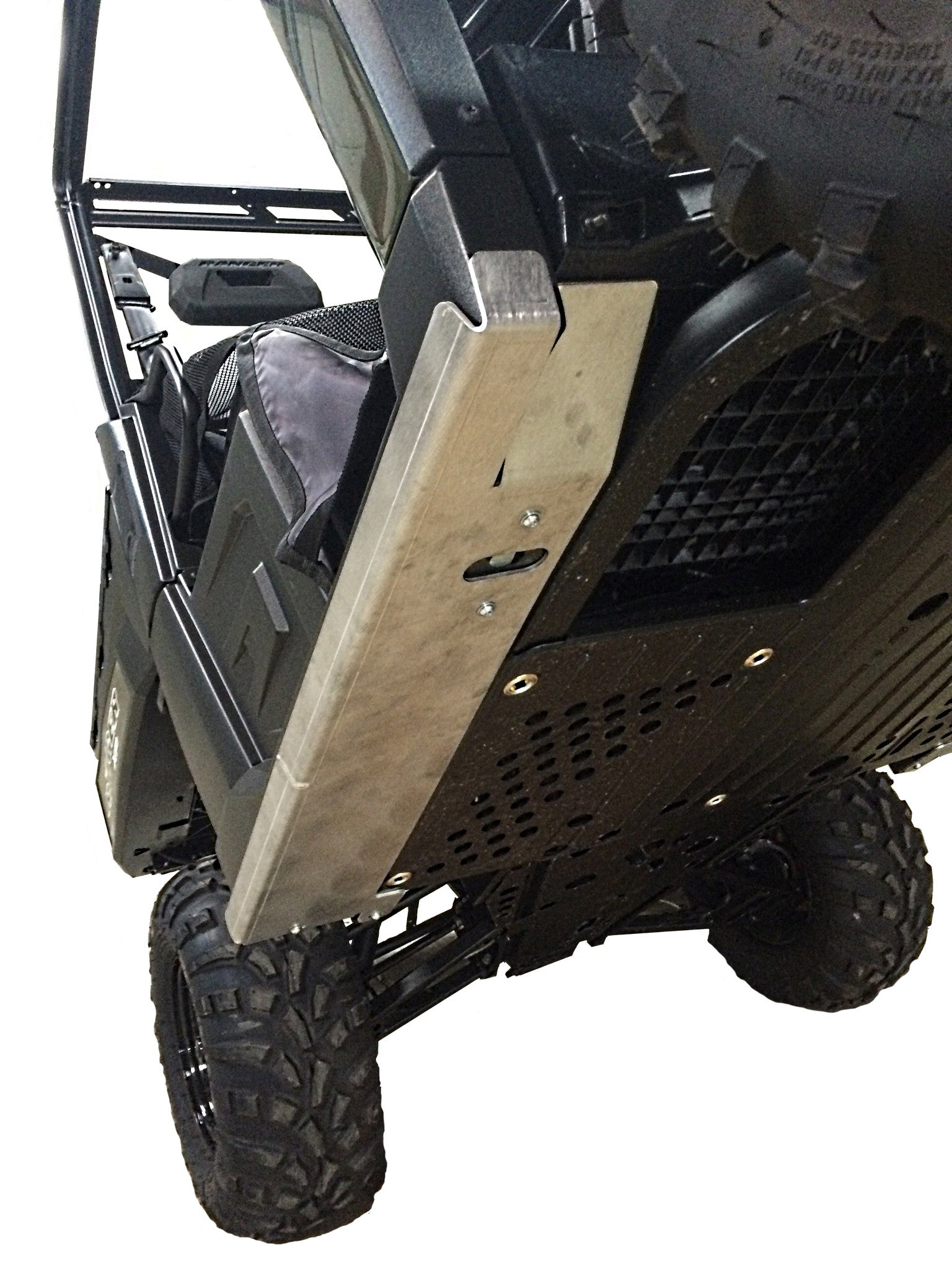2-Piece Aluminum Rock Slider Set, Polaris Ranger XP 900 High Lifter Edition
